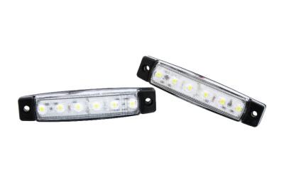 10 stück x 6 led leuchte lampe begrenzungsleuchte umrißleuchte 24v