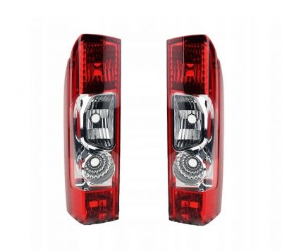 2 x FIAT Ducato Van rear light taillight left right for bus 2006 - 2014