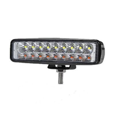 18 Led DRL, daylight, work light,indicator, white,amber,offroad light, 4x4, ATV, 54W 12/24V