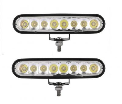 2 x 8 led diodes light,DRL, daylight, work light, car, truck, offroad light, 12 / 24V
