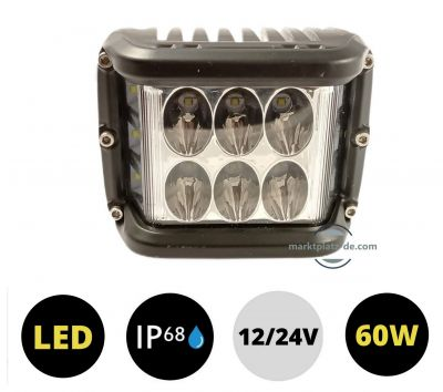 LED Headlight 60w Work Lamp Fog Driving Light