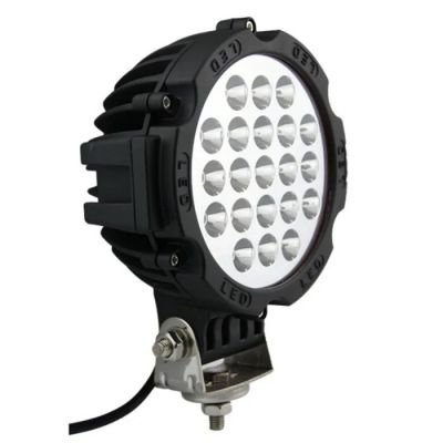 LED Round Work Light 63W Lamp Fog Offroad Driving Light 12V 24V