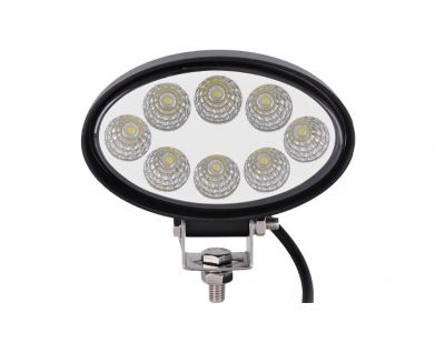 Led Lamp Work Light Harvester Offroad Oval 24w 12v 24V