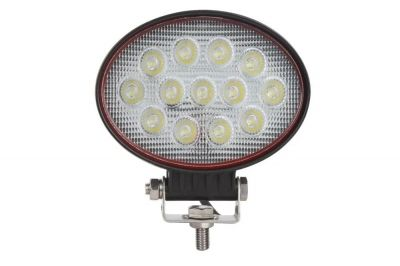 39W LED Oval Luces de Trabajo 146mm Cosechadoras Tractor ATV 4x4 12V 24V