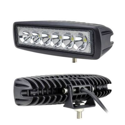 18W LED DRL Car Truck Tractor Work Light Daylight Off-road 12V 24V