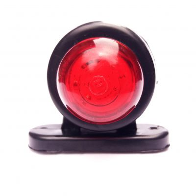 LED 12 v 24v Side Truck Marker Lights Trailer Position Indicator Red White