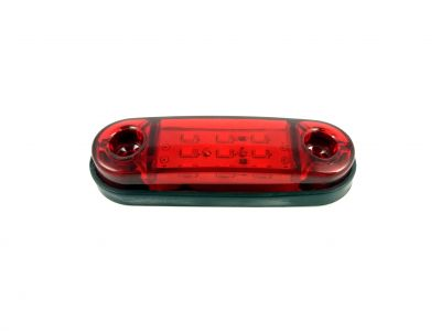 Side Marker light Indicator Trailer Truck 9 LED Red 24v