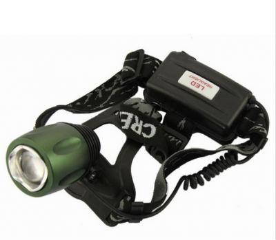 800LM CREE XM-L T6 LED headlights spotlights Zoomable for Fishing Camping Hiking