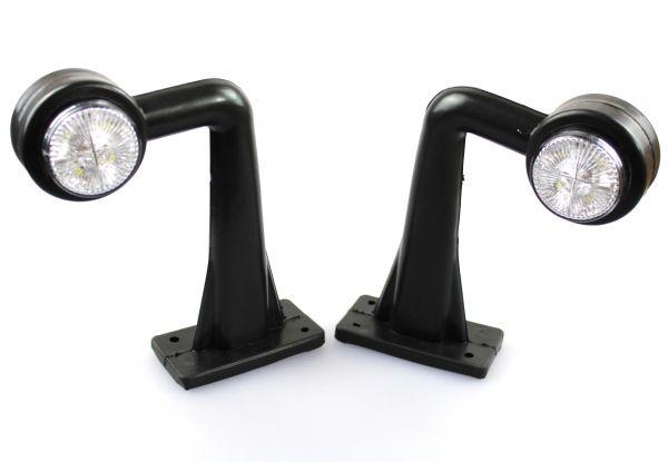 2x Begrenzungsleuchten 24V LED Positionsleuchten E-Prüfezeichen LKW Anhänger