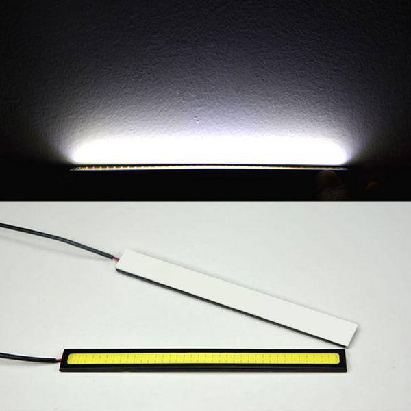 2 x 15sm led cob streifen tagfahrlicht drl beleuchtung wasserdicht 12v wei. Black Bedroom Furniture Sets. Home Design Ideas