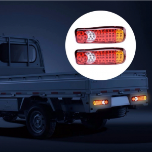 2 x Tail truck light ,Back Light ,trailer left right Vw,Iveco,Man Bus Van LED 12v