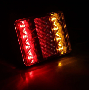 2 x Tail truck light  ,trailer lights,left right agricultural machinery Led 12v