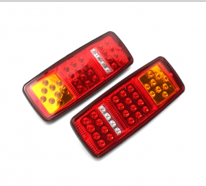 2 x Tail truck light ,Back Light ,trailer left right Vw,Iveco,Man Bus Van LED 24v