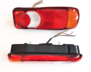 2 x Tail truck light ,Back Light ,trailer left right ,Bulb light  Bus Van  12v