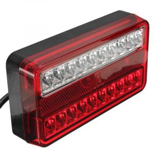 2 x Tail truck light ,Back Light ,trailer left right Vw Lt,,Crafter,Transporter,Bus,Van LED 12V