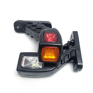 2 x Stalk Position lights led lights marker indicator truck trailer Led 12/24V
