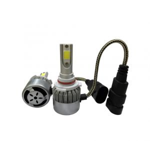 2 x LED HB4 Headlights,led bulbs,car lights,kit cob lights DRL 72w 7600lm