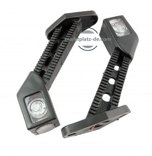 2 x Led Stalk Position lights led lights marker indicator truck trailer e-mark E20 12/24V