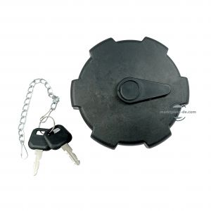 Tank cap,Fuel tank cap with 2 keys, black, locking,truck Mercedes, Atego, Actros, Axor, Man, Renault, Daf