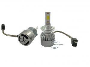 2 x LED H7 Headlights,led bulbs,car lights,vehicle led lights 60w 13000lm