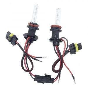 2 x Xenon H11 HID Headlights,bulbs,car lights,vehicle lights 35w 5000k