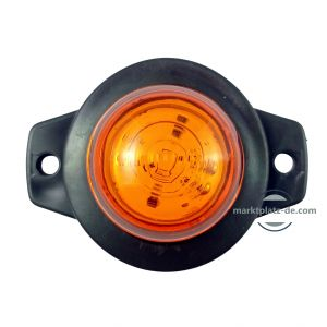 Led Feu Indicateur de position latéral ,remorque camion Orange 12/24v