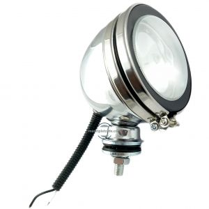 Work lights 12V 55W H3 Headlight Chromed Round Lamp Spot Light