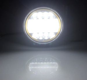 LED Round Work Light 72w Lamp Fog Offroad Driving Light