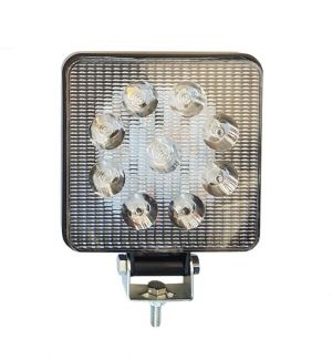 LED Work lights 12V 24V 27w Lamp Flood Square Light