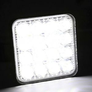 LED Work lights 12V 24V 48w Lamp Flood Square Light