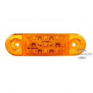 LED Clearance Trailer Truck Lorry Caravan Amber  E9 12v 24v