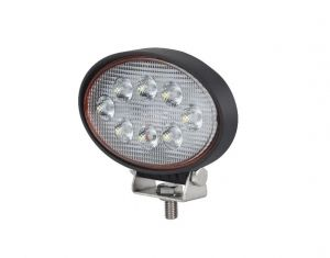 24W Led Lamp Work Light 143mm Harvester Offroad Oval 12v 24V