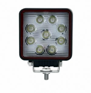27W LED PRO Work lights 12V 24V E9 Lamp Square