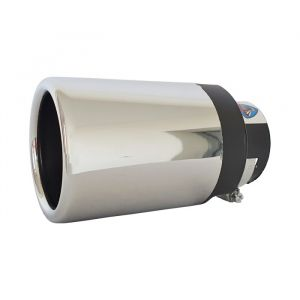 Tailpipe Exhaust Car Silver Round Tunnig 145mm