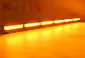 120w COB LED BAR Front grille Warning Light emergency flashing strobe amber 12-30V