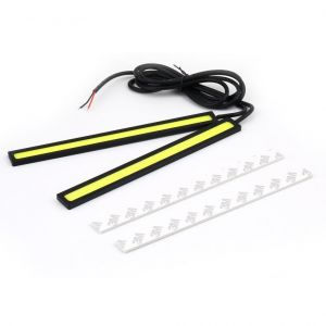 17 cm LED COB strips daytime running lights DRL lighting waterproof 12V white