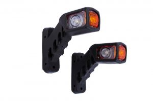 2 x LED position lights led lights marker light indicator light truck trailer 12 / 24V