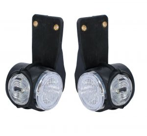 2 x 12V SIDES BEHIND LED MARKER LIGHT FOR TRUCK TRAILERS