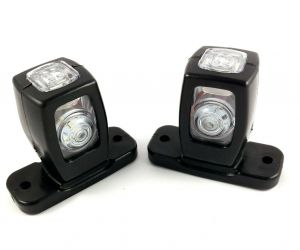 2 x Position lights led lights marker light indicator light truck trailer Led 12 / 24V