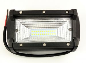 72W 24 LED Car Truck Tractor Work Light Daylight Offroad ATV 10 / 48V