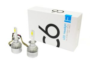 2 x LED H1 Headlights,led bulbs,car lights,vehicle led lights